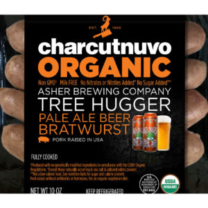Asher Brewing Organic Tree Hugger Beer Brat