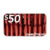 NEW $50 GC