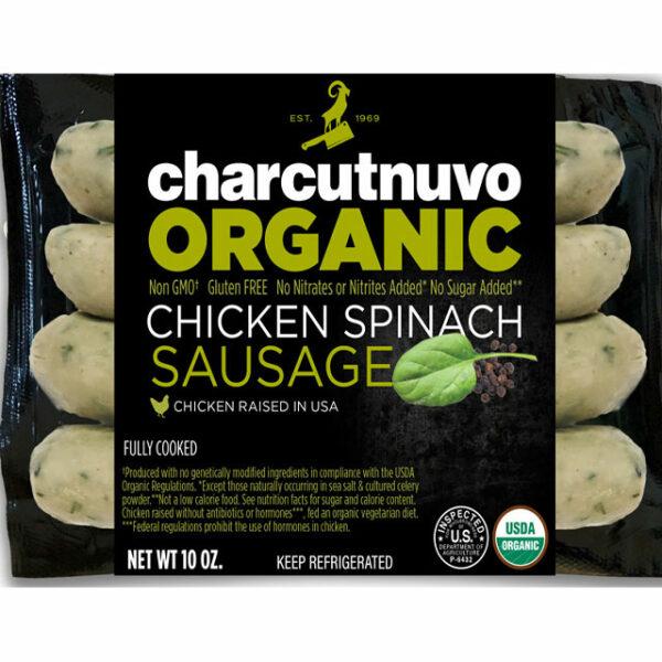 Organic Chicken Spinach