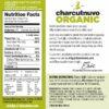 Organic Mac N cheese back of label