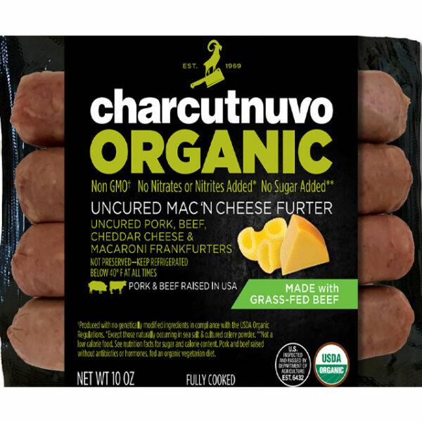 Organic Uncured Macaroni And Cheese Furter