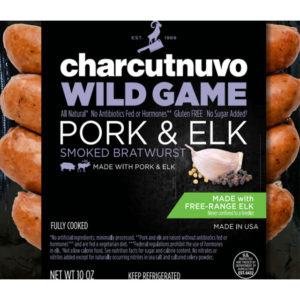 Smoked Pork And Elk Bratwurst