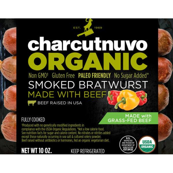 organic smoked bratwurst