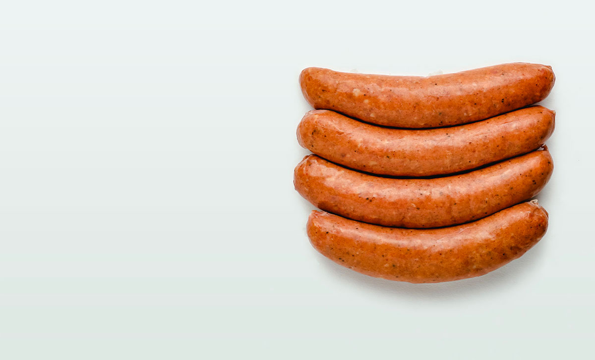 slider image with sausages